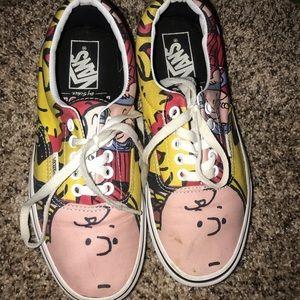 Charlie Brown vans
